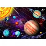 Educa-14461 Puzzle 1000 Teile fluoreszierend - Das Sonnensystem
