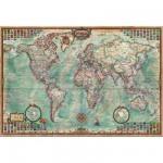 Puzzle  Educa-14827 Weltkarte
