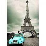 Puzzle  Educa-14845 Liebe am Eiffelturm