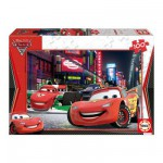 Puzzle  Educa-14940 Cars 2: Flash McQueen in Tokio