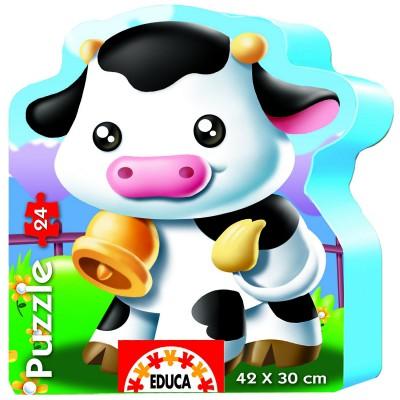 Puzzle Educa-14961 Kleine Kuh