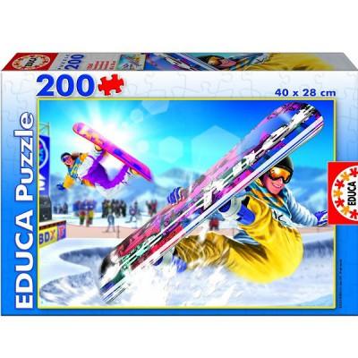 Puzzle Educa-15268 Snowboard
