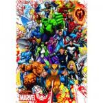 Educa-15560 Puzzle 500 Teile: Marvels Helden
