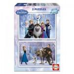 Educa-15767 2 Puzzles - Frozen