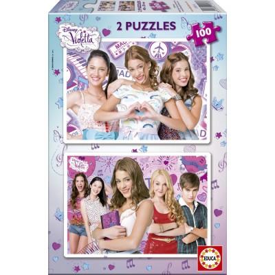 Puzzle Educa-15769 Disney Violetta