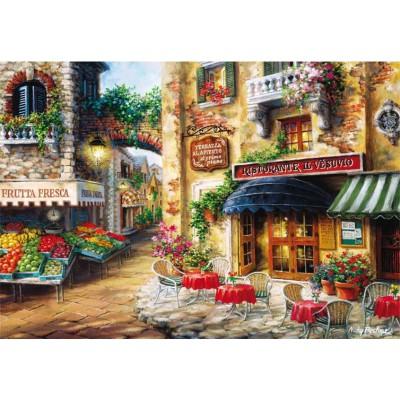Puzzle Educa-15796 Nicky Boehme - Ristorante Il Vesuvio