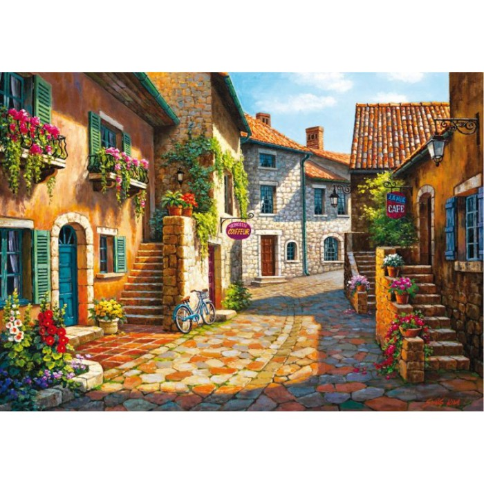 Rue de Village, Frankreich