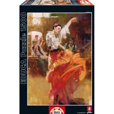 Puzzle Educa-15814 Flamenco
