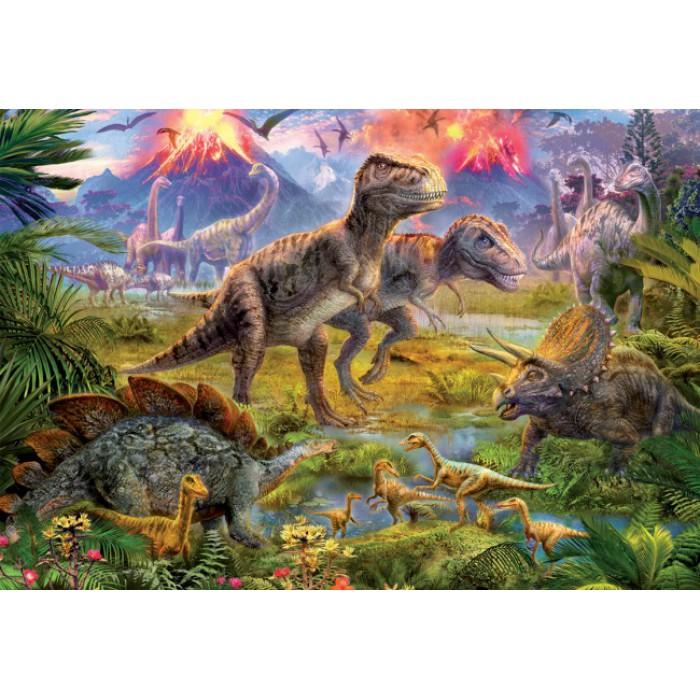 Dinosaurier-Treffen