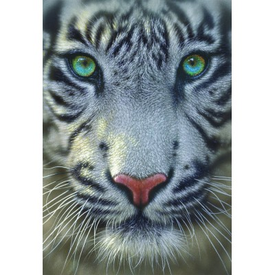 Puzzle Educa-15971 Weißer Tiger