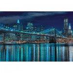 Puzzle  Educa-15978 Manhattan bei Nacht