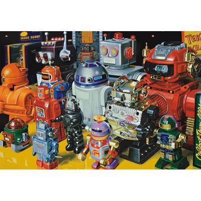 Puzzle Educa-15979 Roboter