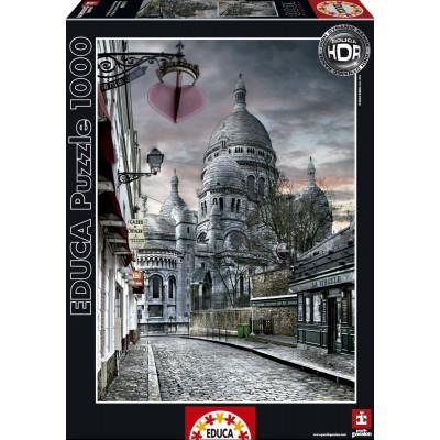 Puzzle Educa-15980 Montmartre