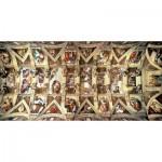 Puzzle  Educa-16065 Michelangelo: Sixtinische Kapelle