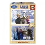 Educa-16163 2 Puzzles - Frozen
