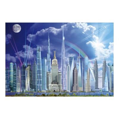 Puzzle Educa-16287 Riesengebäude