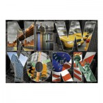 Puzzle  Educa-16288 Collage Von New York