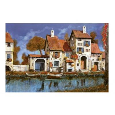 Puzzle Educa-16316 Guido Borelli: La Cascina Sul Lago