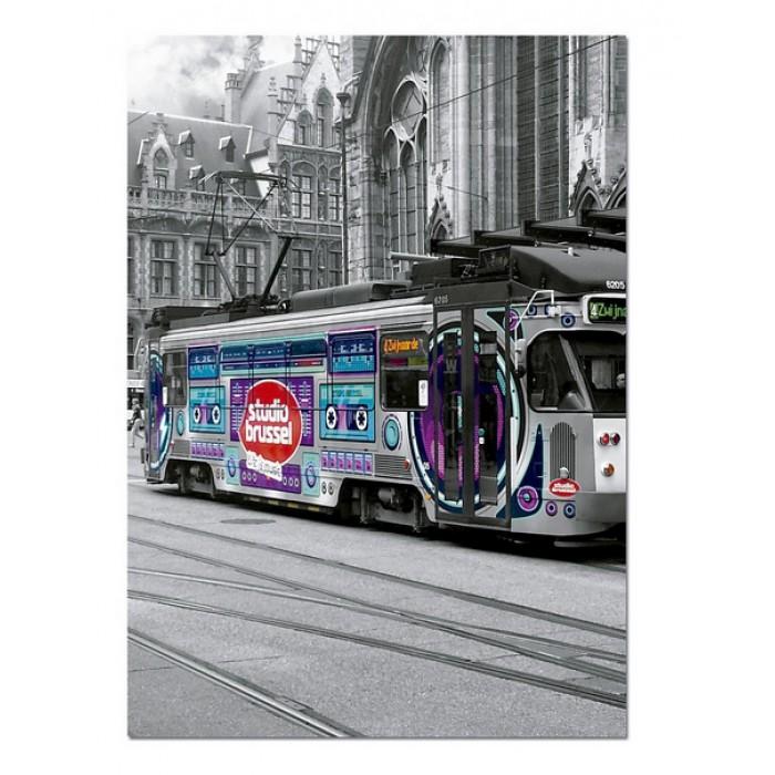 Straßenbahn in Gent, Belgien