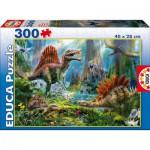 Puzzle  Educa-16366 Dinosaurier