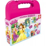 Educa-16508 4 Puzzles - Disney Princess