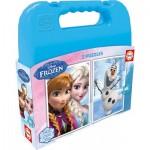 Educa-16514 2 Puzzles - Frozen