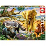Puzzle  Educa-16748 The Big Five