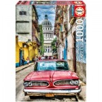 Puzzle  Educa-16754 Vintage Car
