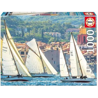 Puzzle Educa-16755 Saint-Tropez, Frankreich
