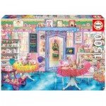 Puzzle  Educa-16769 Aimee Stewart: Cake Shop