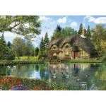 Puzzle  Educa-16774 Dominic Davison: Lake View Cottage