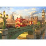 Puzzle  Educa-16777 Dominic Davison: Westminster Bridge, London