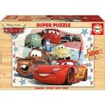Educa-16800 Holzpuzzle - Cars