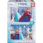 Educa-16852 2 Puzzles - Frozen
