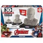 Educa-16884 3D Skulptur Puzzle - Iron Man
