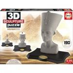Educa-16966 3D Skulptur Puzzle - Nofretete