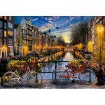 Puzzle  Educa-17127 Amsterdam with Love