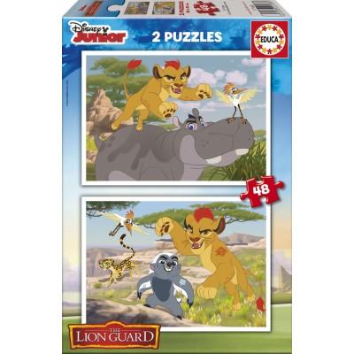 Educa-17168 2 Puzzles - The Lion Guard