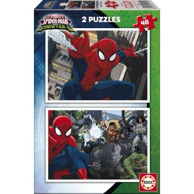 Educa-17170 2 Puzzles - Spider-Man