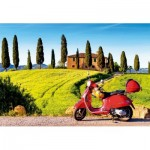 Puzzle   Scooter in Toscana