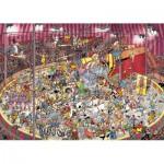 Puzzle  Jumbo-01470 Jan Van Haasteren: Im Zirkus