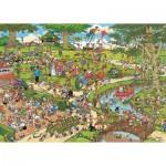 Puzzle  Jumbo-01496 Jan Van Haasteren: Im Stadtpark