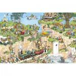 Puzzle  Jumbo-01555 Der Golfplatz