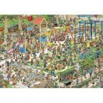 Puzzle  Jumbo-01599 Der Spielplatz