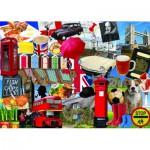Puzzle  Jumbo-10013 Best of British 1