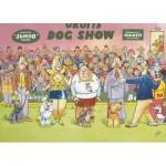 Puzzle  Jumbo-12290 Wasgij Mystery: Die Hundeshow