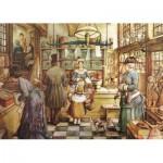 Puzzle  Jumbo-13015 Anton Pieck: Die Konditorei