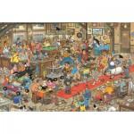 Puzzle  Jumbo-13035 Jan van Haasteren: Die Hundeschau
