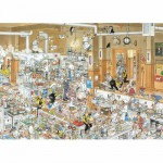 Puzzle  Jumbo-13049 Die Küche