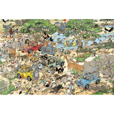 Puzzle Jumbo-17016 Safari